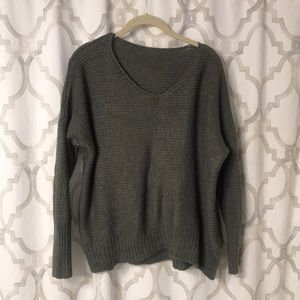 Sweaters - Boyfriend sweater. Cute and slouchy and soft